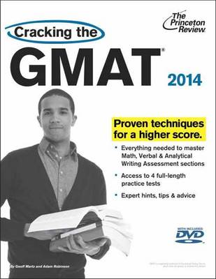 Cracking the GMAT 2014 Cover