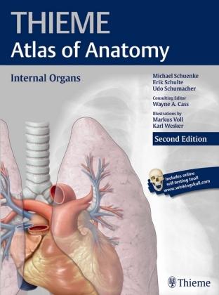 Internal Organs (Thieme Atlas of Anatomy) Cover