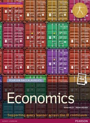 Pearson Baccalaureate: Economics New.. Cover