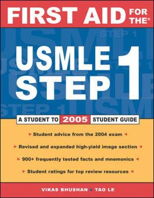 First Aid for USMLE Step 1 2005