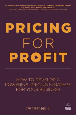 Pricing for Profit: How to Develop a.. Cover