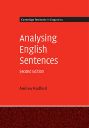 Analysing English Sentences Cover