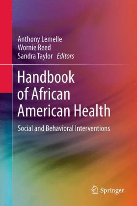Handbook of African American Health:.. Cover