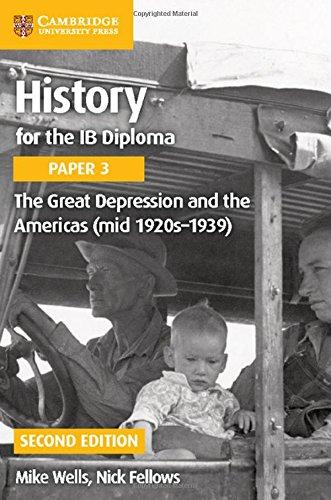 The The Great Depression and the Americas (Mid 1920s-1939): The Great Depression and the Americas (mid 1920s-1939) Paper 3