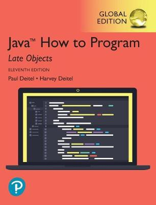 Java How to Program, Late Objects,.. Cover