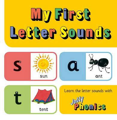 My First Letter Sounds: in Precursive.. Cover