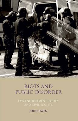 Riots and Public Disorder: Law.. Cover