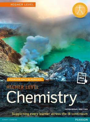 Pearson Baccalaureate Chemistry Higher.. Cover