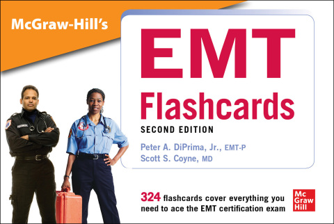 McGraw-Hill's EMT Flashcards, Second Edition