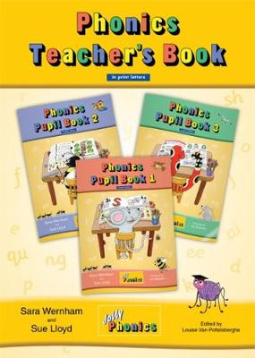 Jolly Phonics Teacher's Book in Print.. Cover