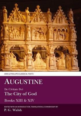 Augustine: De Civitate Dei: Books XIII &.. Cover