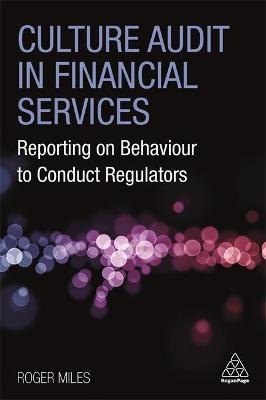 Culture Audit in Financial Services:.. Cover