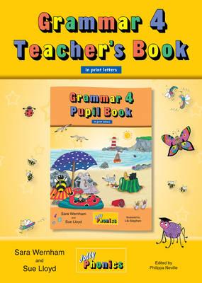 Grammar 4 Teacher's Book: In Precursive Letters (British English edition)