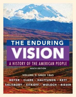 the enduring vision book index Textbook site for: the enduring vision: a history of the american people, fourth  edition paul s boyer, clifford e clark, jr, joseph f kett, neal salisbury,.