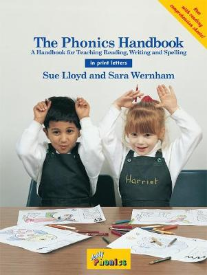 The Phonics Handbook (in Print Letters) Cover