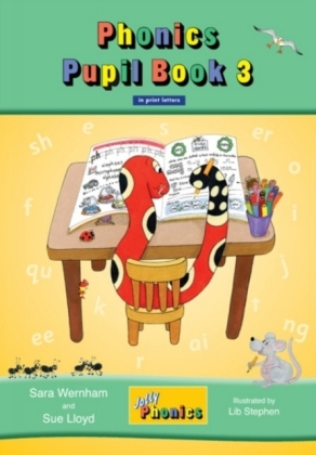 Jolly Phonics Pupil Book 3 (colour.. Cover