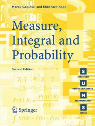 Measure, Integral and Probability