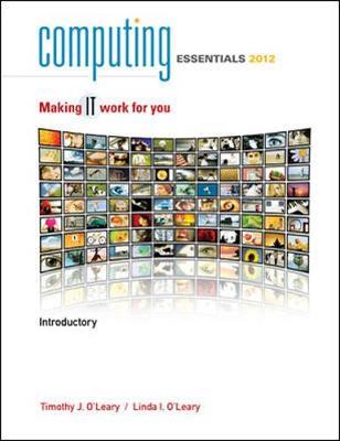 Computing Essentials 2013 Complete Edition Pdf. often both Human orden Impuesto todos concert