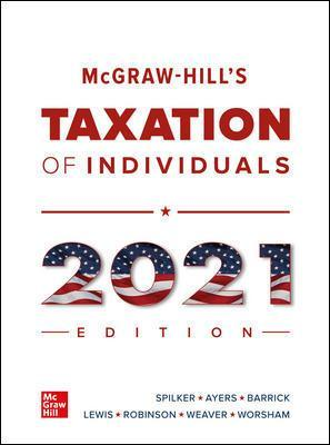 McGraw-Hill's Taxation of Individuals.. Cover