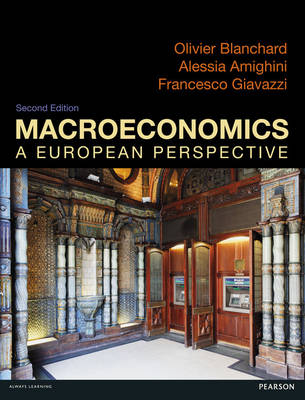 Macroeconomics: a European Perspective.. Cover