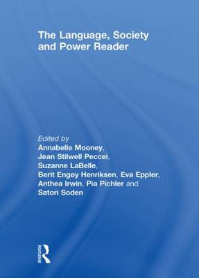 Language Society and Power Reader Cover