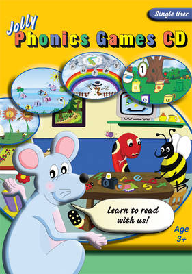 Jolly Phonics Games CD (single user) Cover