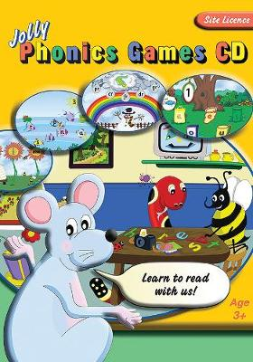 Jolly Phonics Games CD (site licence) Cover