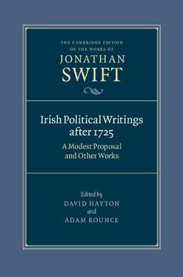 Irish Political Writings after 1725: A.. Cover