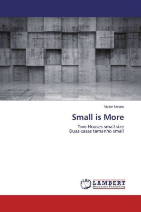 Small Is More 9783659755873 Abe Ips