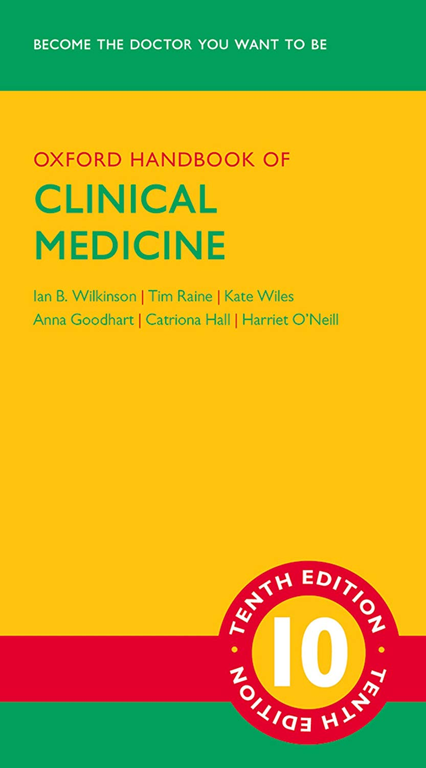 Oxford Handbook of Clinical Medicine Cover