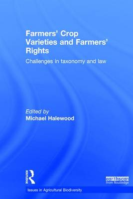 Farmers' Crop Varieties and Farmers'.. Cover