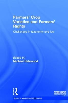 Farmers' Crop Varieties and Farmers'.. Cover