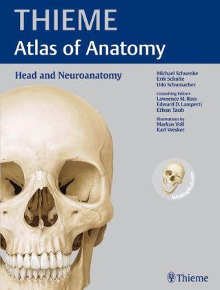 Atlas of Anatomy: Head and Neuroanatomy Cover