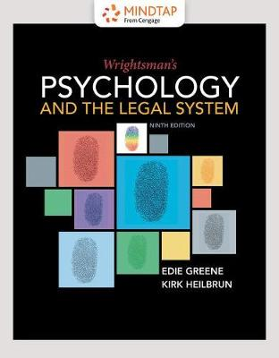 Mindtap Psychology 1 Term 6 Months Printed Access Card For Greene Heilbruns Wrightsmans And The Legal System 9th