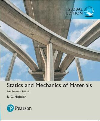 Statics and Mechanics of Materials in SI.. Cover