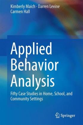 Applied Behavior Analysis: Fifty Case.. Cover