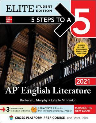 5 Steps to a 5: AP English Literature.. Cover
