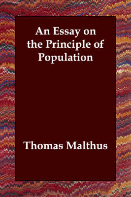 malthus an essay on the principle of population second edition