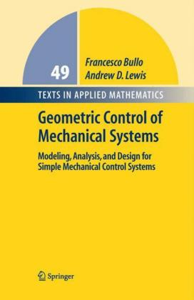 Geometric Control of Mechanical Systems:.. Cover
