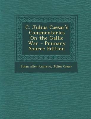 julius caesar prime sources