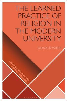 The Learned Practice of Religion in the.. Cover