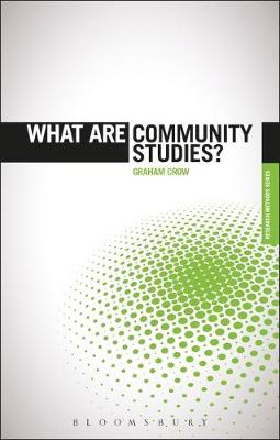 What are Community Studies? Cover