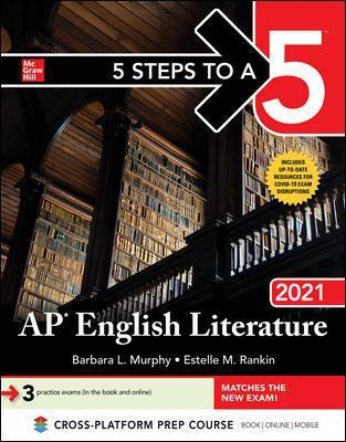 5 Steps to a 5: AP English Literature 2021 Cover