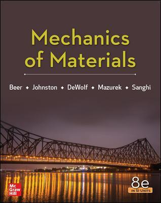 Mechanics Of Materials 8th Edition, Si.. Cover